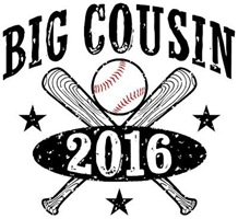 Big Cousin 2016 Baseball t-shirt