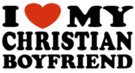 I Love My Christian Boyfriend t-shirt