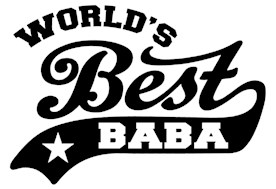 World's Best Baba t-shirts