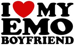 I love My Emo Boyfriend t-shirt