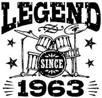 Legend Since 1963 t-shirts
