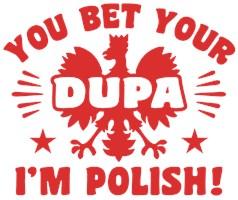 Funny Polish Dupa t-shirt