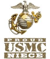 Proud USMC Niece t-shirts