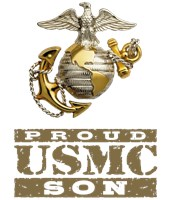 Proud USMC Son t-shirts