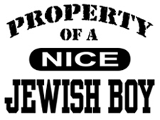 Property of a Nice Jewish Boy t-shirts