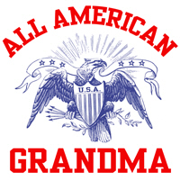 All American Grandma t-shirt