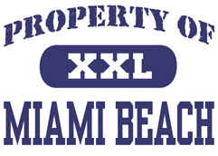Property of Miami Beach t-shirt