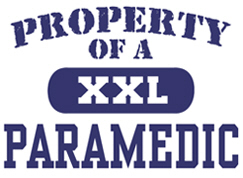 Property of a Paramedic t-shirt