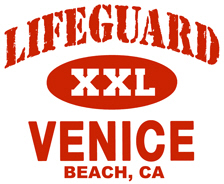 Lifeguard Venice Beach t-shirts