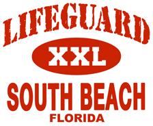 Lifeguard South Beach t-shirts