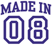 Made in 08 t-shirt