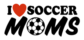 I Heart Soccer moms t-shirts