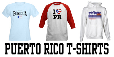 Puerto Rico t-shirts and gifts