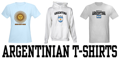 Argentinian t-shirts