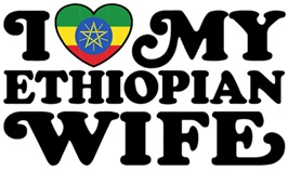 I Love My Ethiopian Wife t-shirts