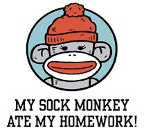 Funny Sock Monkey t-shirt