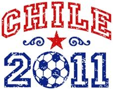 Chile Soccer Futbol t-shirts