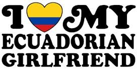 I Love My Ecuadorian Girlfriend t-shirts