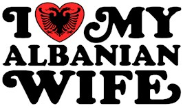 I Love My Albanian Wife t-shirts
