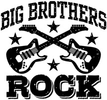 Big Brothers Rock t-shirts