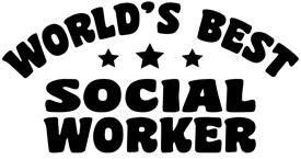 World's Best Social Worker t-shirt