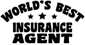 World's Best Insurance Agent t-shirt