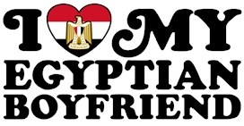 I Love My Egyptian Boyfriend t-shirts