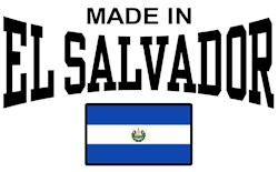 Made In El Salvador t-shirts
