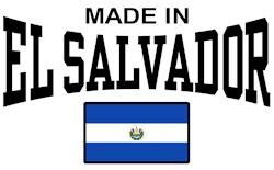 Made In El Salvador t-shirts