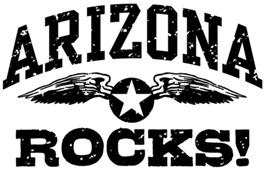 Arizona Rocks t-shirts