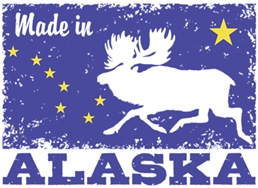 Made In Alaska t-shirts