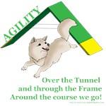 Pom Agility Over the Tunnel