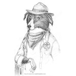 Ash the Law Dog