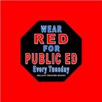 Wear Red for Public Ed