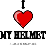 I Love My Helmet
