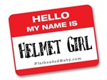 Hello My Name Is Helmet Girl