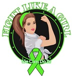 Non-Hodgkins Lymphoma Fight Like A Girl Rosie Tees