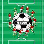 Personalized soccer team