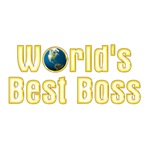 World's Best Boss (gold)