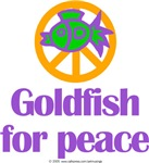 Goldfish for peace.