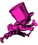 Mad Hatter Striding Pink