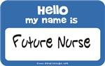 Future Nurse Name Tag