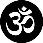 Om Symbol Circle