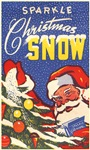 Santa Sparkle Snow