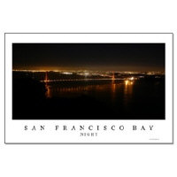sf bay gifts - san francisco night