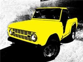 Yellow Bronco