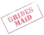 Bridesmaid Stamp