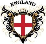 English Flag T-shirts & Gifts