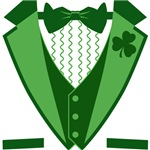 Funny Irish Tuxedo