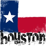 Houston Grunge Flag